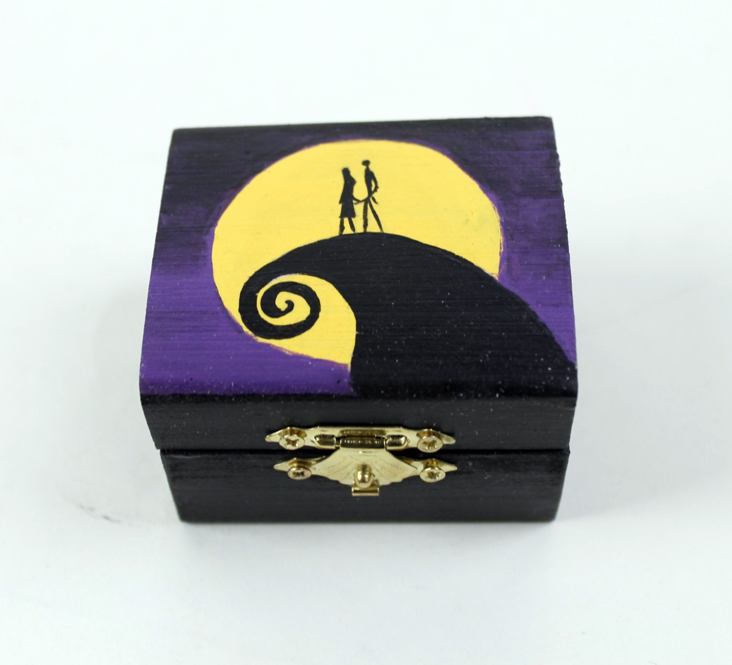 Nightmare Before Christmas Ring Box | Etsy