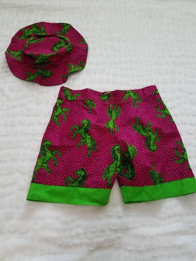 Ankara Shorts KnickersSummer Wears Ethnic ShortBeach Wear