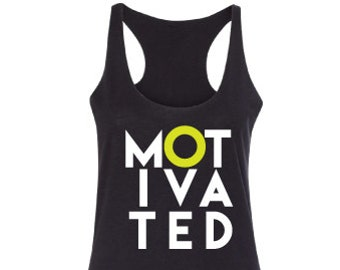 Motivational tank top, Fitness tank top, Workout tank top