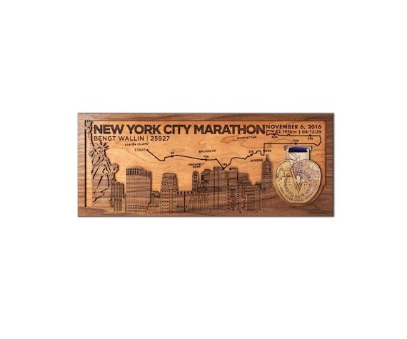 Running médailles Hanger Display Fabriqué en UK