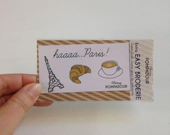 Haaa Paris - Extra EASY BRODERIE