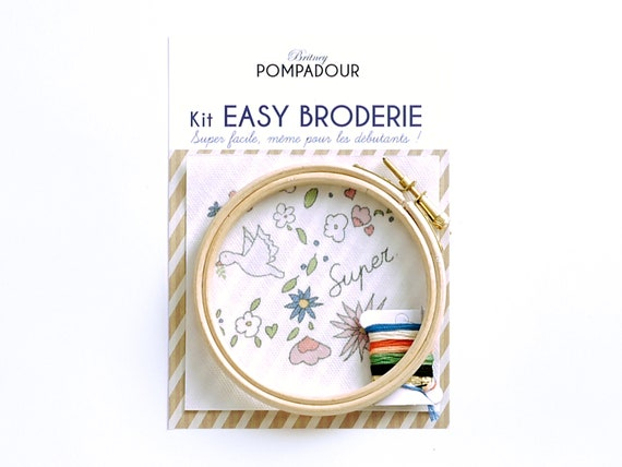 Super Bird - Big EASY BRODERIE Kit