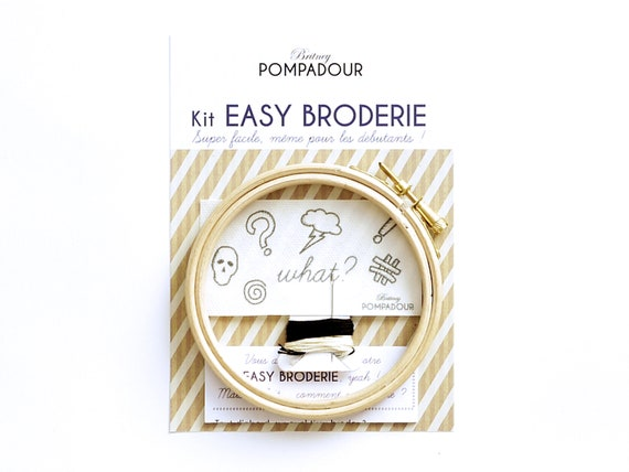 What???- EASY BRODERIE Kit