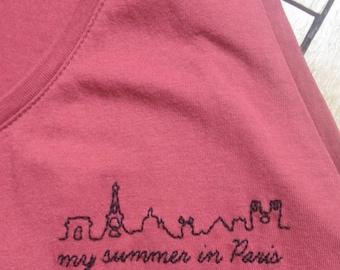 Paris Skyline - Extra EASY BRODERIE