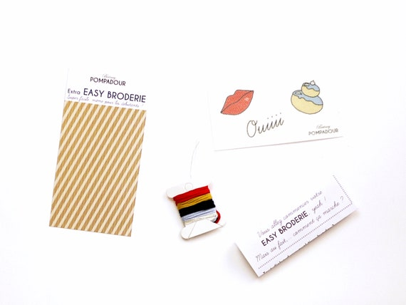 Ouiii bouche-Extra EASY BRODERIE