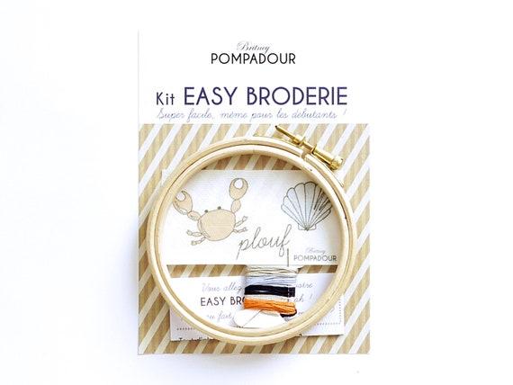 Splash Crab- EASY BRODERIE Kit
