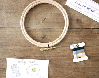 Oeuf - EASY BRODERIE Kit