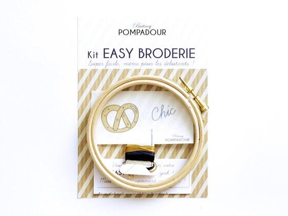 Chic Bretzel- EASY BRODERIE Kit