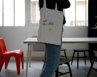 L'été - Tote bag EASY BRODERIE
