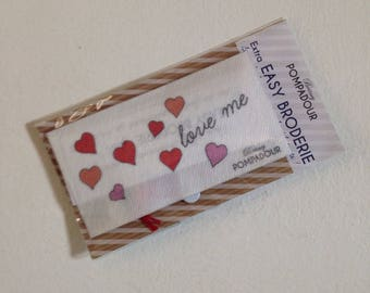 Love me - Extra EASY BRODERIE