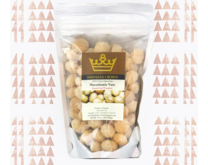 Unsalted Hawaiian Macadamia Nuts- 3oz