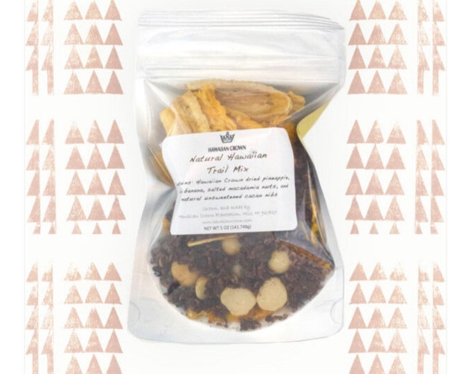 Natural Hawaiian Trail Mix- 5oz