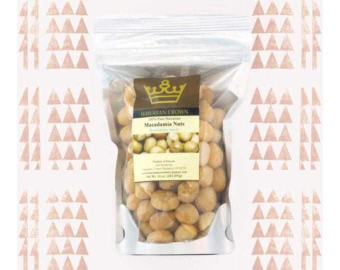 Salted Hawaiian Macadamia Nuts- 10oz