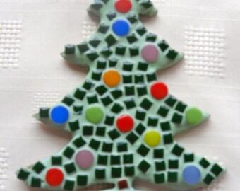 Mosaic Christmas Tree Kit/DIY christmas tree/christmas decoration/ tree decoration/Christmas fun