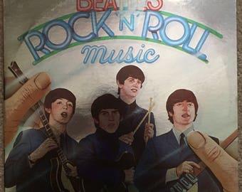 The Beatles Rock 'n' Roll Music album, 1976 EMI Records, SKBO-11537, double album, mint condition vinyl album