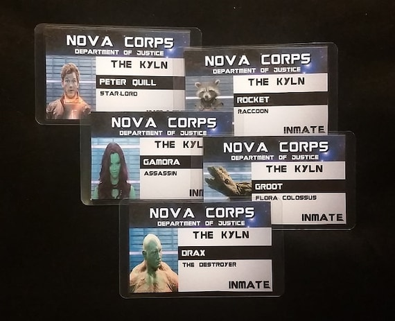 Nova Corps ID Badges Inspired By Marvels Guardians Of The