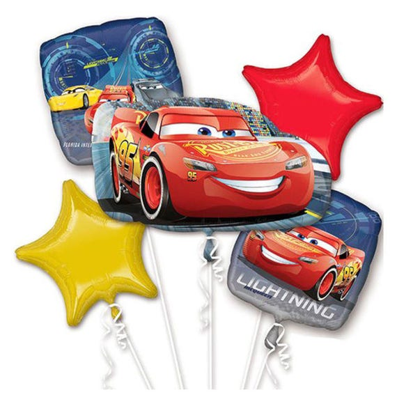 Disney Cars Movie 2 Birthday Balloons Lightning McQueen Party
