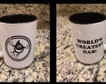 Worlds greatest dab mug