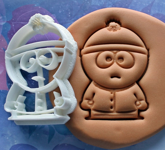 Eric Cartman South Park Cookie Cutter  Made From Biodegradable Material  Brand New  Party Favor  Kids Birthday  Baby Shower  Cake Top
