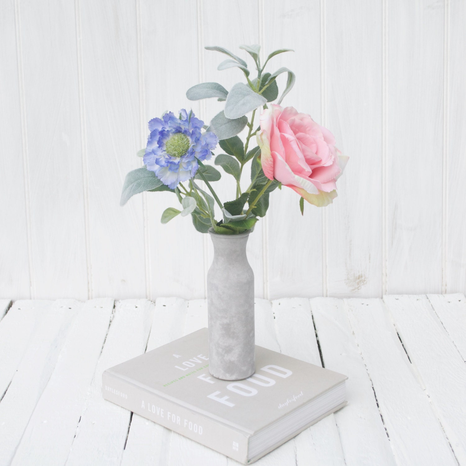 Soft pink real touch rose bouquet everlasting rose bouquet etsy zoom izmirmasajfo