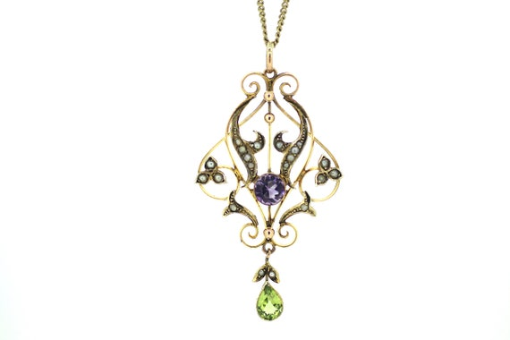 British Suffragette Pendant / Genuine Suffragette