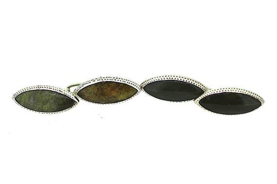 Connemara Marble Cufflinks / Silver Cufflinks / Ge