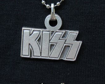 KISS Necklace 925 Silver Plated Free Shipping