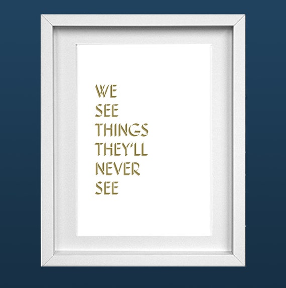 Oasis Print A4 Live Forever Lyrics 'We See Things They'll Never See'  Birthday Music 90's Britpop Noel Liam Gallagher FREE SHIPPING (UK)