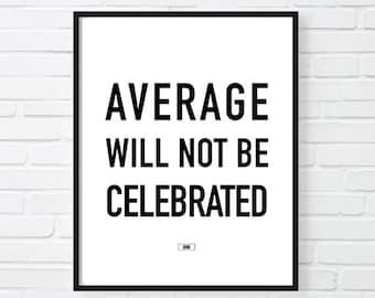 Office Wall Decor, Success Motivational Poster, Cool Print, Sarcastic Print, Gift for Boss Coworker, Inspirational Print, Wall Art 24x36