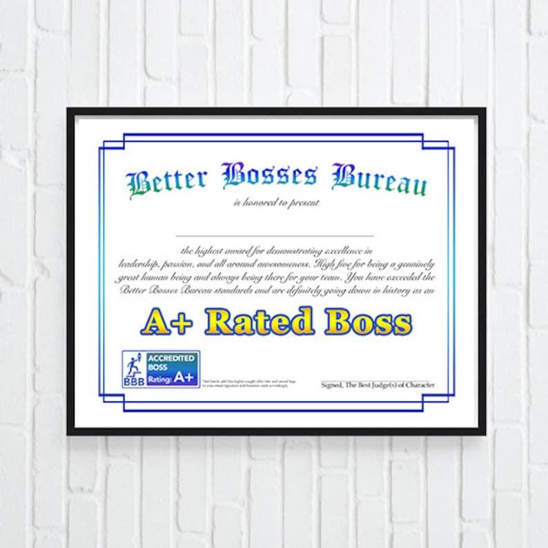 Office Decor Gift for Boss Boss Gift funny boss gift Best image 0