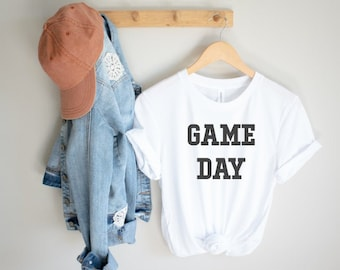 Game Day Shirt| Sports Mom Shirt| Football Mom Shirt| Baseball Mom Shirt| Game shirt