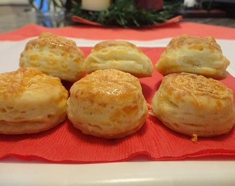 Cheese scones, Bacon biscuit, POGACSA (2 LB)