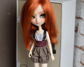 Steampunk collection : Kinix dungarees [Pullip = obitsu and pure neemo]