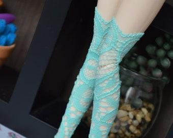 Bottom turquoise lace [Pullip, obitsu 27cm =]