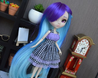 Dress purple Airithy [Pullip, Obitsu 27 cm =]