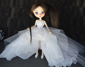 [Pullip, Obitsu 27 cm =] ice princess dress