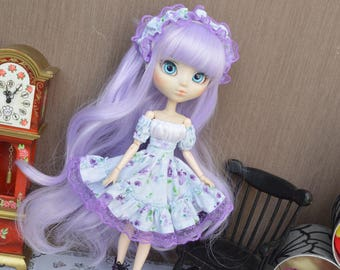 Outfit Thyam floral [Pullip, Obitsu 27 cm =]