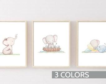 nursery art set etsy