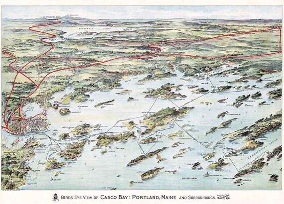 Columbia South Carolina 1872 Historic Panoramic Town Map 20x28