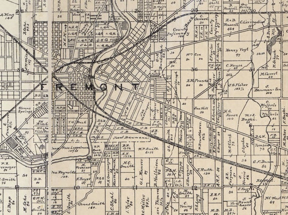 1891 Farm Line Map of Sandusky County Ohio Fremont Woodville Sandusky County Ohio Map on northwest ohio cities map, bowling green state university ohio map, erie county ohio map, sandusky ohio road map, ottawa county ohio map, city of youngstown ohio map, sandusky river ohio map, scioto county ohio map, seneca county ohio map, upper sandusky ohio map, wood county ohio map, sandusky ohio folded street map, ohio ohio map, wyandot county ohio map, fremont ohio map, fort sandusky ohio map, eaton ohio street map, cuyahoga county ohio map, wake forest ohio map, henry county ohio map,