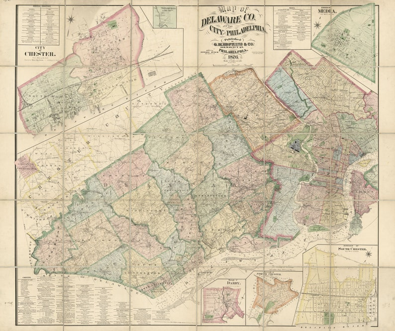 1876 Map of Delaware County PA and the city of Philadelphia Map Delaware County Pa on lackawanna county, carbon county pa map, adams county, bucks county pa map, cumberland county, baldwin township pa map, schuylkill county, allegheny county, lehigh county pa map, burlington county nj map, amity township pa map, berks county, schuylkill river pa map, montgomery county pa map, media pa map, knox county pa map, philadelphia county, franklin county, pa counties map, jefferson county, delaware county street map, fayette county, bucks county, chester county, lancaster county pa map, villanova university pa map, lancaster county, coal county pa map, washington county, central pa county map, west chester, plymouth township pa map, delaware county ohio map, delaware valley, delaware county township map, york county, montgomery county, washington crossing state park pa map,