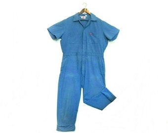 ad281e0bb48 Vintage Dickies blue mens workwear jumpsuit coveralls