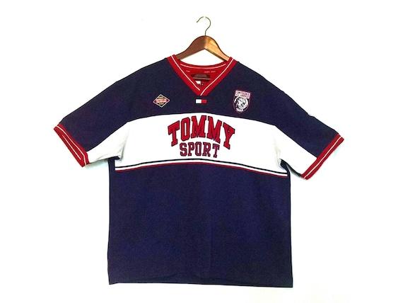 Vintage 1990s Tommy Hilfiger Tommy Sport logo jers