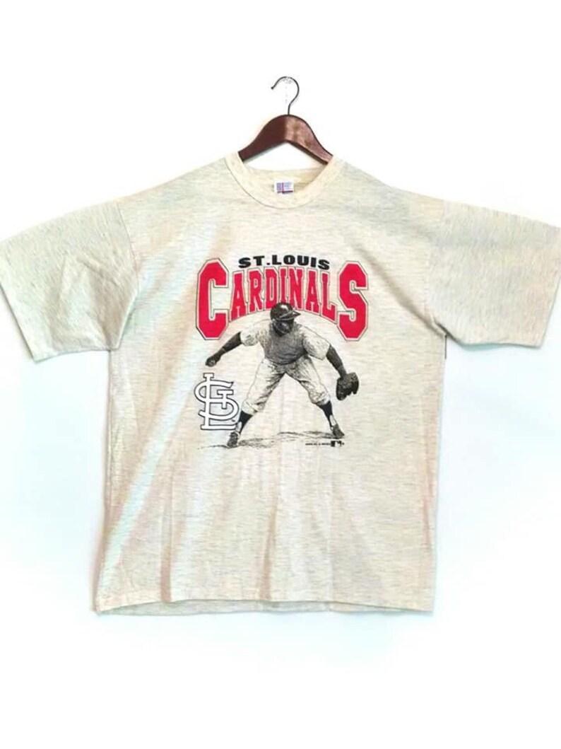 Vintage 1990 St Louis Cardinals heather gray