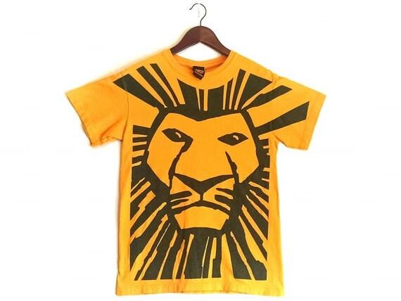 Vintage 1997 The Lion King Broadway Musical New Yo