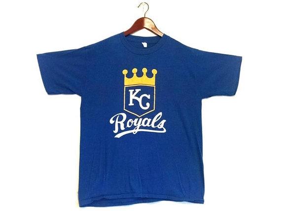 Vintage 1980s Kansas City Royals MLB Baseball t-sh
