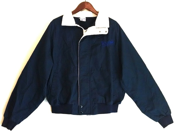 Vintage 1980s Kansas City KC Royals baseball coat