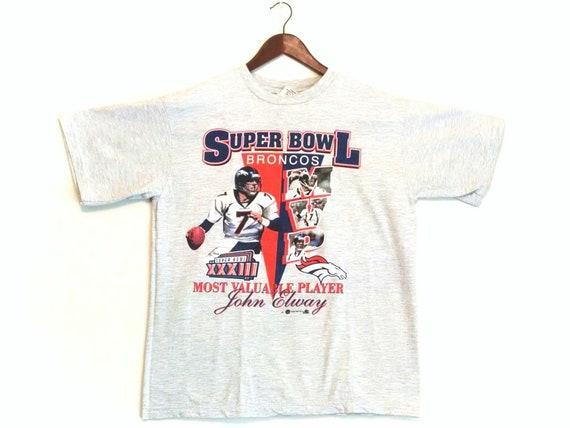 Vintage 1999 Denver Broncos John Elway NFL MVP Sup