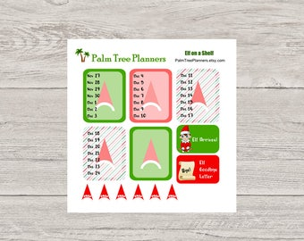 Elf on a Shelf Planner Stickers Seasonal Kit