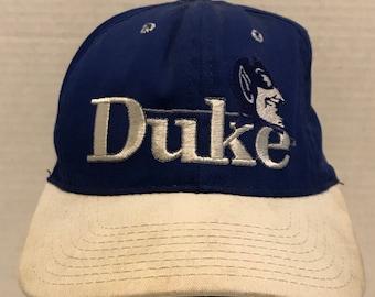 NCAA Duke Blue Devils Vintage The Game 1984 Blue Snapback Hat Cap 74a54ceafde0